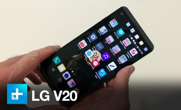 Обзор телефона LG V20