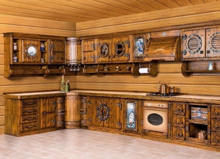 Из какого материала выбрать мебель для кухни?