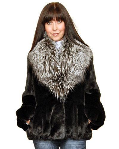 куртки меховые