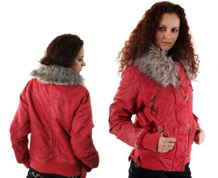 куртка из текстильных материалов