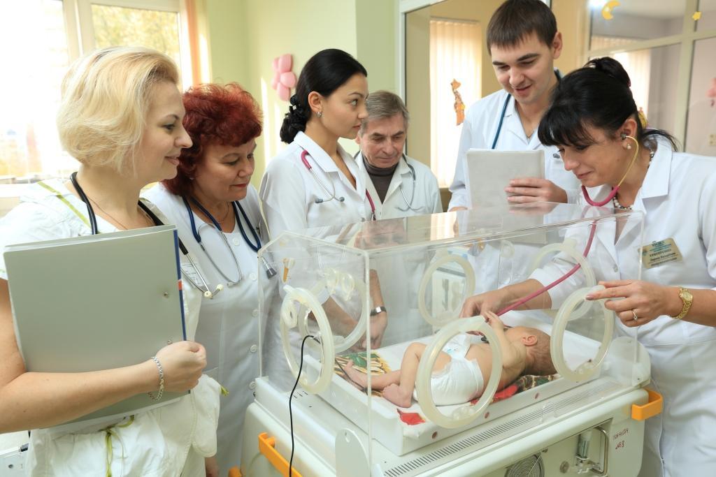 Благотворители приобрели для львовской детской больницы оборудование на  250 тыс гривен