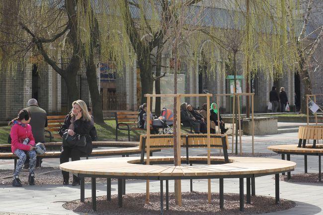 В сквере на Сихове обустроят более 300 мест для сидения