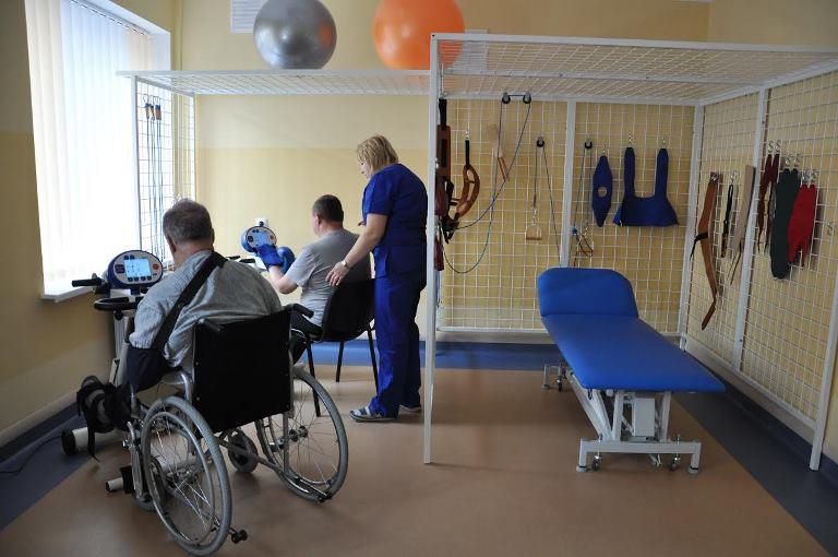 Первое в Украине реабилитационное отделение